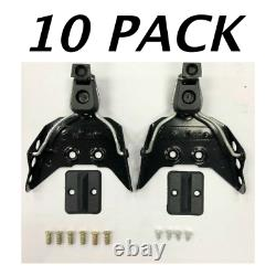 10 Pack New 3 Pin Cross Country Ski Bindings fit size 1 13 75mm XC nordic norm