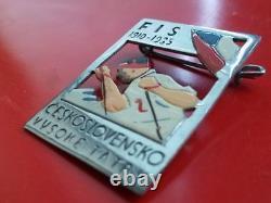 1935 FIS Cross country skiing world championships Vysoke Tatry wintersport badge