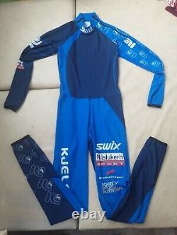 (376) SWIX NORWAY Milslukern S M man ski suit cross-country biatlon
