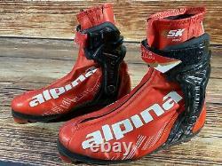 ALPINA ESK Skate Pro Nordic Cross Country Ski Boots Size EU39 NNN