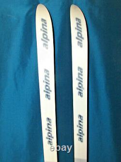 ALPINA Highglide waxless cross country skis 190cm with Rottefella NNN BC bindings