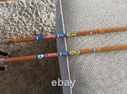 ASSAR WOODEN CROSS COUNTRY SKI POLES SIZE 140cm Made in SWEDEN SWE SKIPOOL
