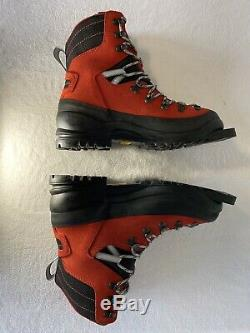 Alpina Alaska 75mm BC Cross Country Ski Boots Size 42 Left 43 Right Foot $250