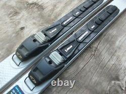 Alpina Discovery 190cm Metal Edge Cross Country Skis Salomon XA BC Auto Bindings
