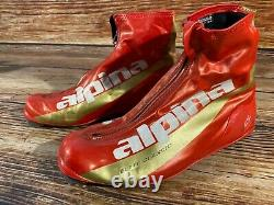 Alpina Elite Classic Nordic Cross Country Ski Boots Size EU44 US10.5 for NNN