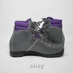 Alpina NNN BC Women Cross Country Gray/Purple Ski Boots
