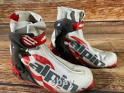 Alpina RSK Racing Nordic Cross Country Ski Boots Size EU41 US8 for NNN