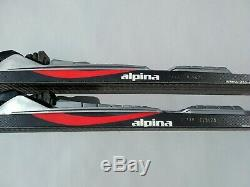 Alpina Wave Waxless 130cm Skis Cross Country Nordic Rottefella NNN Binding