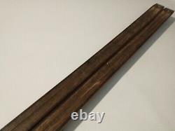 Asnes Vintage Hickory Wood Waxable 190 cm Skis Cross Country Nordic NNN Binding