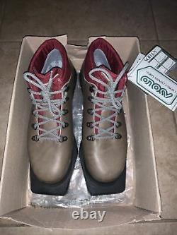 Asolo Glissade 310 Cross Country Ski Boots Size 8 Made In Italy New With Tags