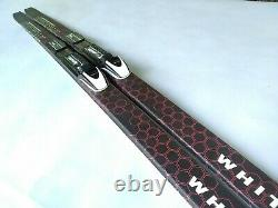 Backcountry 180 cm Waxless Skis Metal Edge Rottefella NNNBC Cross Country Nordic