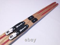 Bonna Hickory Waxless 200 cm Skis Cross Country Nordic Rottefella NNN Binding