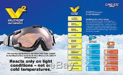 CASCO SPIRIT VAUTRON Nordic Shield Cross Country Ski Racing Biathlon Goggles