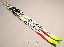 Classic Kids Waxless 120 cm Skis Cross Country XC Nordic Rottefella NNN Bindings