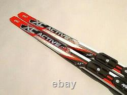 Classic Kids Waxless 150 cm Skis Cross Country XC Nordic Rottefella NNN Bindings