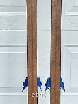 Company 3 Trucker Waxable Wood Cross Country Skis 190cm XC made in Aspen CO USA