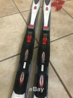 Cross Country Ski's Set 185cm Alpina Solution (73 Inches) Blue Great Condition