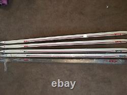 Cross country skis 5 Pair No Binding- See Details. Trak Pacer&Gliers+ Elan 490