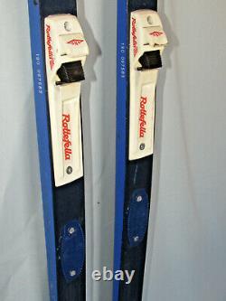 ELAN E3 R8 waxable cross country skis 190cm with Rottefella NNN xc ski bindings