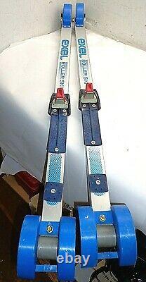 Exel 3-Wheel Roller Ski Rollerski Cross Country Skiis Finland FREE SHIPPING