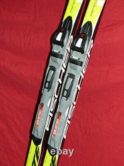 FISCHER CRS Skate XC 172cm Cross-Country SKIS Salomon SNS Pilot Sport Bindings