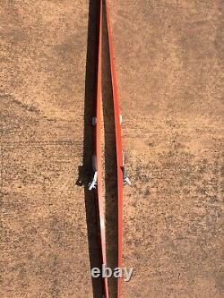 FISCHER ROYAL CROWN 210 CM CROSS COUNTRY SKIS WithTRAKKER BINDINGS