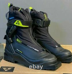 Fischer BCX 675 3 Pin Waterproof Backcountry Cross Country Ski Boots Size EU 45