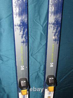 Fischer BC CROWN cross country skis 160cm with Salomon SNS Profil xc ski bindings
