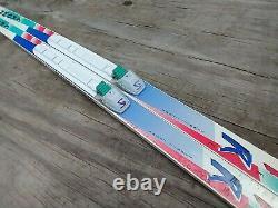 Fischer Crown 200 cm Cross Country Ski SNS Salomon Profil Bindings Nordic XC