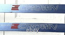 Fischer Crown 205cm Cross Country Skis NNN Rottefella bindings XC