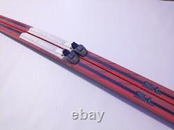 Fischer Crown Waxless 195 cm Skis Cross Country XC Nordic SNS Profil Binding