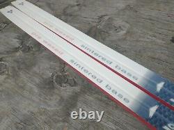 Fischer Crown Waxless 210cm Cross Country Ski SNS Salomon Profil Bindings Nordic