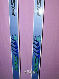Fischer Double Crown Fiber XC cross country skis 190cm with Salomon SNS bindings