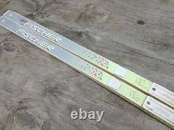Fischer E99 Waxable 215 cm Metal Edge Cross Country Skis NNN BC Manual Bindings