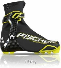 Fischer NNN RCS Skate Carbon Speedmax Cross country ski boot 9 Euro 42 XC Nordic