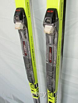 Fischer ORBITER cross country skis 174cm with Salomon Profil SNS xc ski bindings