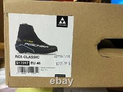 Fischer RC5 Classic XC Cross Country Ski Boot Size EU 46