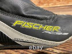 Fischer RC5 Combi Cross Country Classic Ski Boots Size EU40 NNN