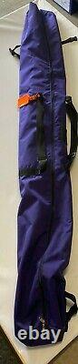 Fischer Touring Double Crown Cross Country Skis With Rottella Bindings With Bag