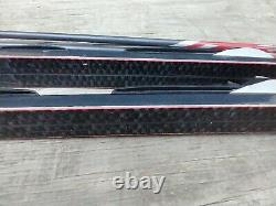 Fischer Waxless 189cm Cross Country Skis Poles NNN Rottefella Bindings Nordic XC
