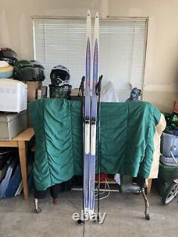 Fisher Summit Crown Cross Country Ski 205 cm With Solomon Bindings