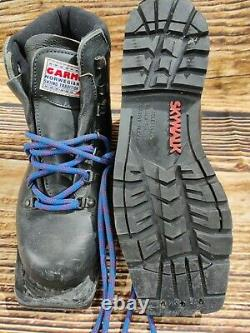 GARMONT Telemark Nordic Cross Country Backcountry Ski Boots Size EU38 NN 75mm P