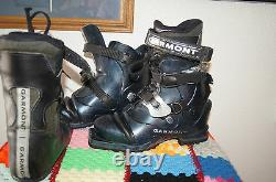Garmont Telemark Ski Boot 24 GARMONT WOMEN 7 CROSS COUNTRY SKI BOOTS 7 MONDO 24