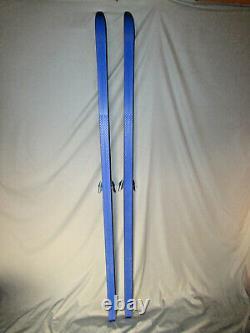 Hagen Touring Loipe waxless cross country xc skis 200cm w Benner 3-Pin bindings