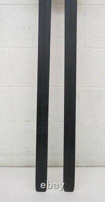 Huski USA Classic 210cm Wooden Cross Country Skis withSkilom 3-Pin Bindings Medium