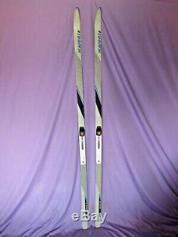 KARHU Whisper BC classic crosscountry skis 190cm with Salomon SNS Profil bindings