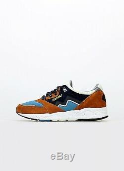 Karhu Aria Cross Country Ski Pack 2 Herren Sneaker Schuhe Braun Blau NEU F803051