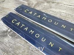Karhu Catamount 190 cm Metal Edge Cross Country Skis NNN C Auto Bindings