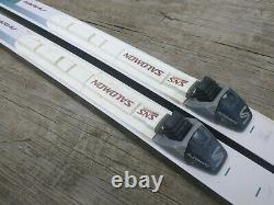 Karhu Waxless 195cm Cross Country Ski SNS Salomon Profil Bindings Nordic XC