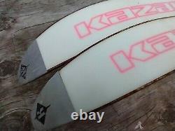 Kazma Mt. High 210 cm Metal Edge Cross Country Skis Salomon XA BC Auto Bindings